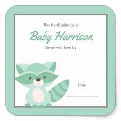 baby shower bookplate template baby shower bookplate template