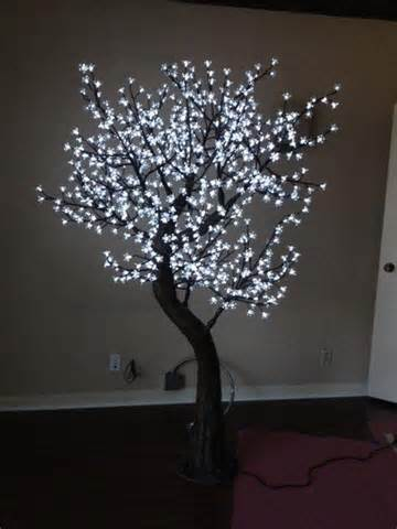 Cherry tree led light