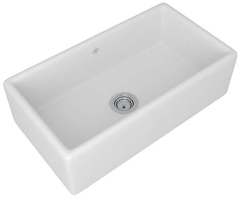 Rohl Kitchen Sinks Rohl Shaws Lancaster Single Bowl Kitchen Sink Rc3318wh