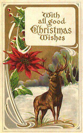 vintage animals animals vintages cards animal animals vintage xmas christmas holidays
