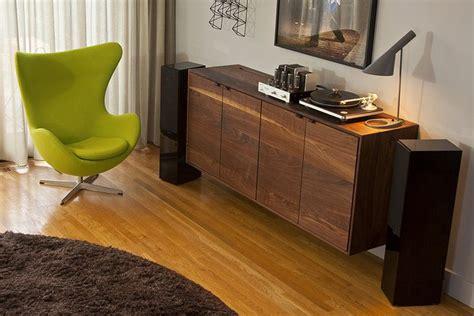 vinyl record cabinet room