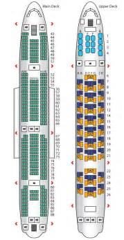 business class a380 config 1 emirates seat maps