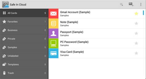 Keepass Template Credit Card Safe In Cloud Finally A Password Manager That Actually Works Goodbye Splashid