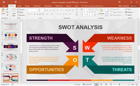 Animated Polygon Infographic Template For Powerpoint Infographic Templates For Powerpoint