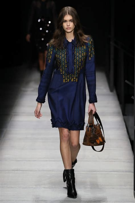 Reese Jakes Cuddly Walk With Bottega Veneta by Kaia Gerber Steals The Show While Catwalking At Bottega