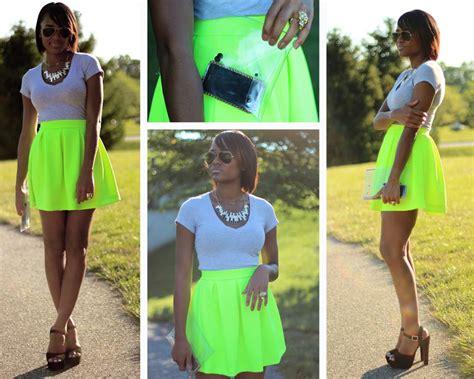 neon fluorescent fashion handaculture