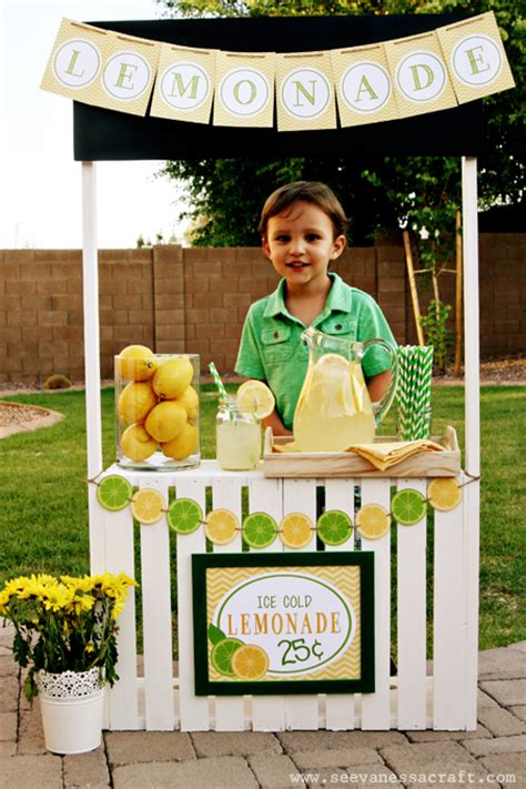 diy lemonade stand lemonade stand ideas and recipes that are and tasty