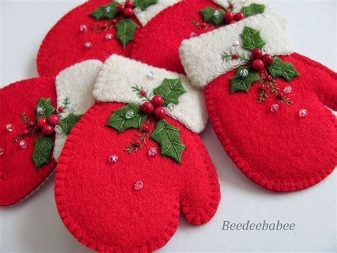 best 25 felt christmas decorations ideas on pinterest