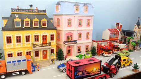Riesige Playmobil Stadt Komplett Eingerichtet Seratus1