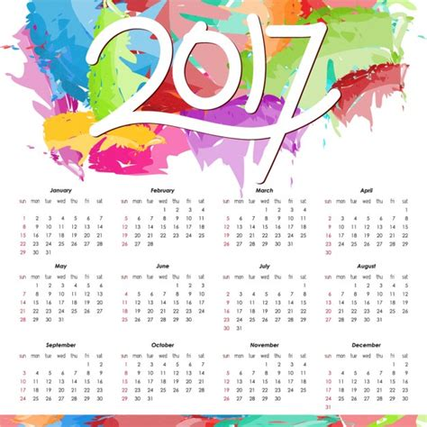 New Year Calendar 2017 Happy New Year 2017 Calendar Free Happy New
