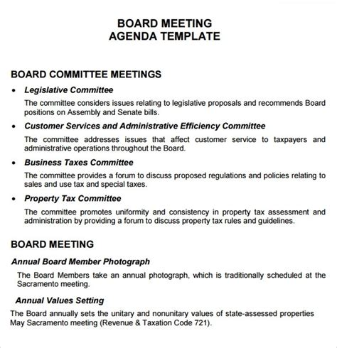 Nonprofit Board Meeting Agenda Template Beepmunk Non Profit Board Meeting Agenda Template