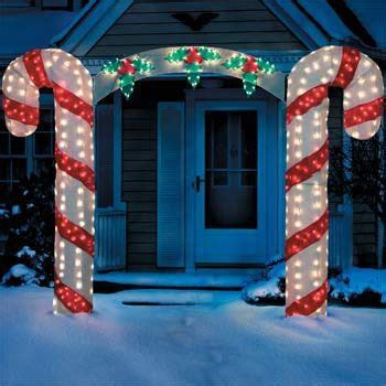 lighted candy cane decorations 1000 images about candy cane lights on pinterest