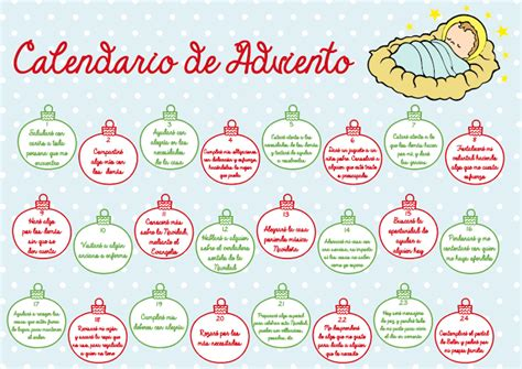K En El Calendario La Catequesis El De Calendarios De Adviento