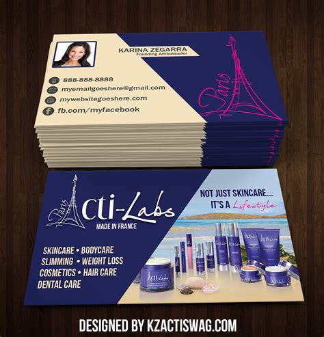 Acti Labs Business Cards acti labs business cards 10 183 kz creative services