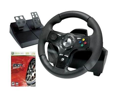 volante xbox 360 feedback volant pro xbox 360 logitech drivefx axial feedback wheel