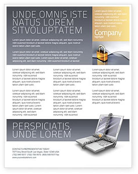 informational flyer template archives narutracker