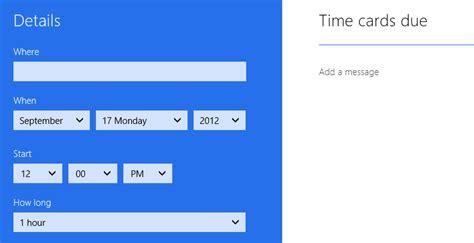 Calendar Desktop App Windows 8 Whats New In Windows 2012 Apps Directories