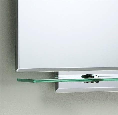 kingston wall mirror with shelf contemporary bathroom bathroom mirror modern stylish with shelves frameless wall