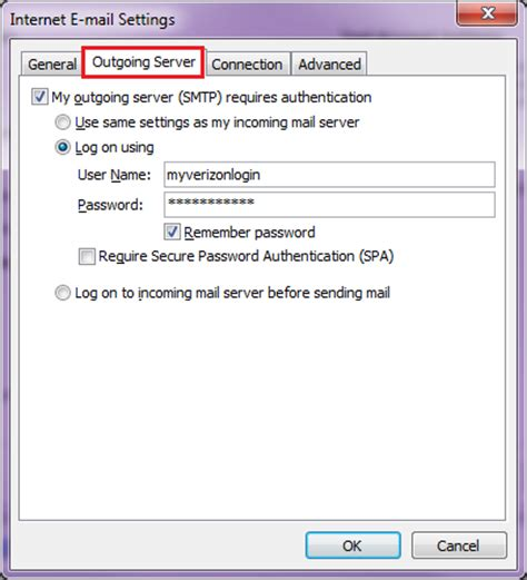 email yahoo verizon solution email settings for verizon outlook receive