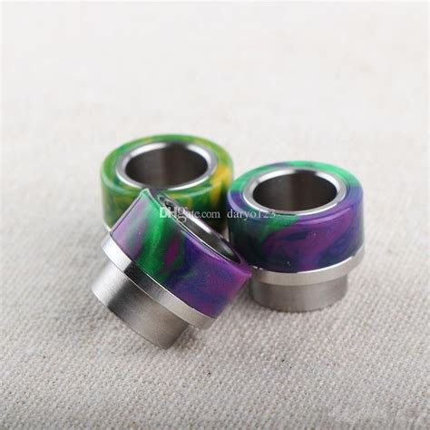 Driptip Resin Ss Pin 511 best ecig resin and stainless steel wide bore drip tips for kennedy 24 and goon 528 rda cheap