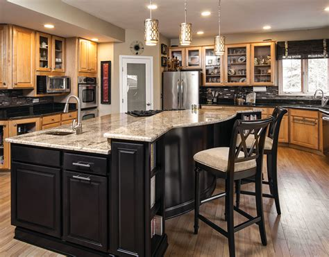gourmet kitchen island new gourmet island unifies this kitchen for residential pro