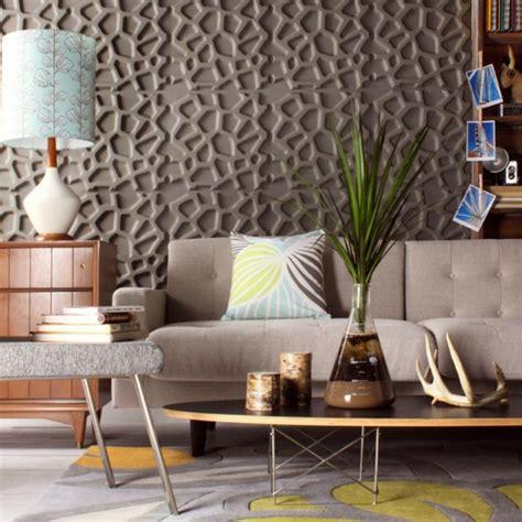 wand wohnzimmer ideen wandpaneele eine trendige tendenz bei der wandgestaltung