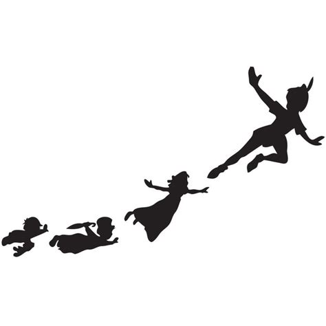 peter pan silhouette tattoo 25 best ideas about pan silhouette on