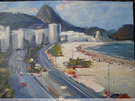 watercolor tattoo rio de janeiro praia de copacabana de janeiro brasil pedro da