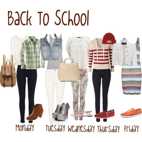 Clothes My Back Wednesday by School Ideas And Back To School On