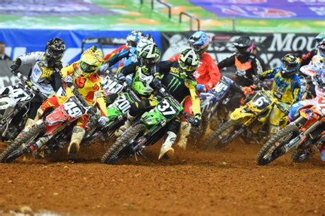 motocross race tonight ktm men double atlanta two supercross mcnews com au