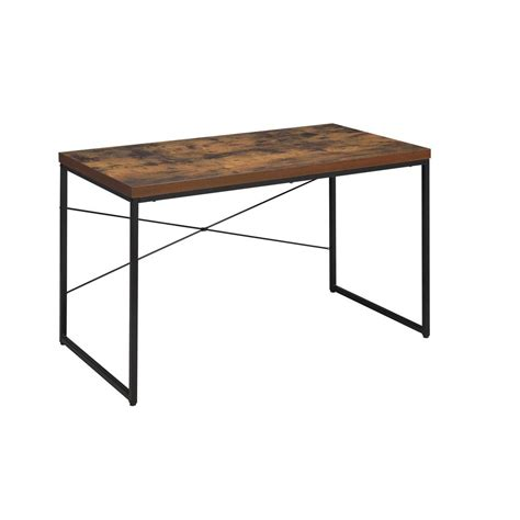 weathered wood writing desk acme furniture bob weathered oak writing desk 92396 the
