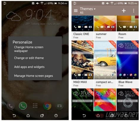 htc themes store review htc one m9 the quot okay quot flagship lowyat net