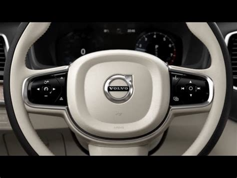 volvo xc steering wheel buttons youtube