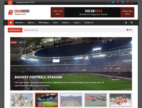 themes wordpress free sport 21 best free responsive magazine wordpress themes 2018