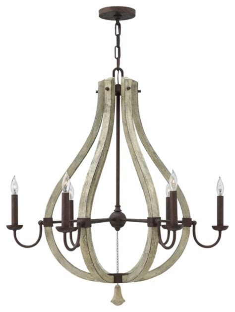 farmhouse lighting chandelier middlefield 6 light chandelier fredrick ramond for hinkley