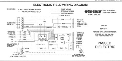 dometic rv air conditioner wiring diagram dometic