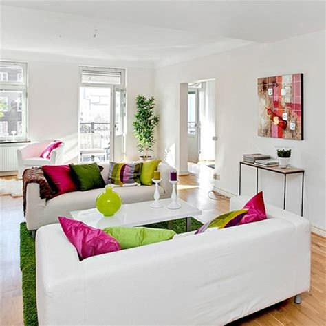 splash home decor home dzine home decor white with a splash of colour