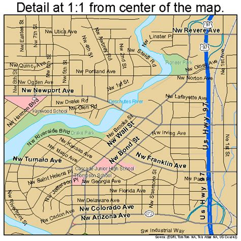 map of oregon bend bend or pictures posters news and on your