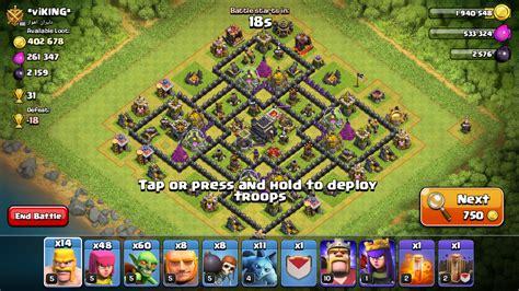 th9 best base 2016 clasher best anti loot th9 farming base 2016