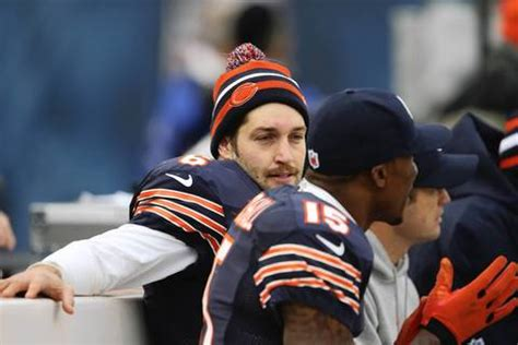 jay cutler benched week 12 photos bears vs vikings chicago tribune