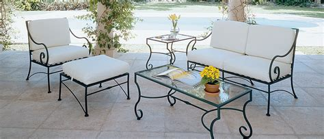 wrought iron couch 4 advantages of wrought iron patio furniture ideas 4 homes