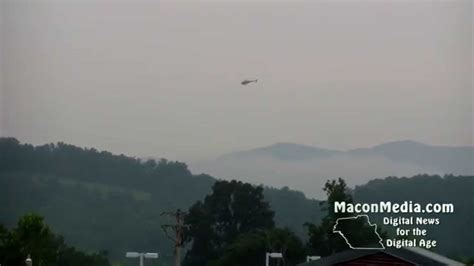 Macon County Search Carolina Highway Patrol Helicopter Assists Search