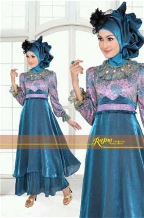 Strala Set Atasan Busana Muslim Maxi Dress Blouse Pant model baju gamis pesta princess biru tosca yang elegan dan trendy ini didesain dengan sangat