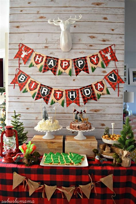 24 best kids birthday party decoration ideas at home homecoach 24 lumberjack themed birthday party ideas pretty my party
