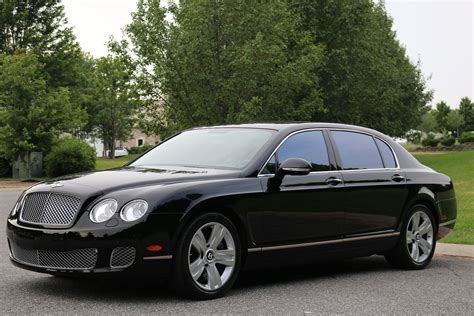 bentley sedan 2010 bentley continental flying spur 4 dr luxury sedan blk