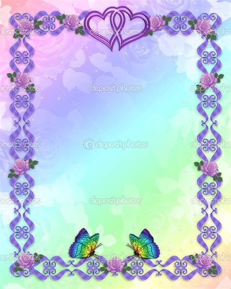 Wedding Border Stationery by Free Wedding Backgrounds Frames Free Birthday