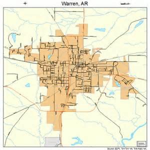 warren map warren arkansas map 0573310