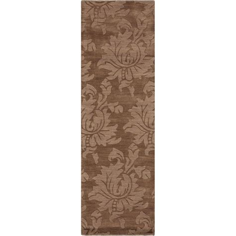 8 foot runner rug home decorators collection sofia brown 2 ft 6 in x 8 ft rug runner sop7000 268 the home depot
