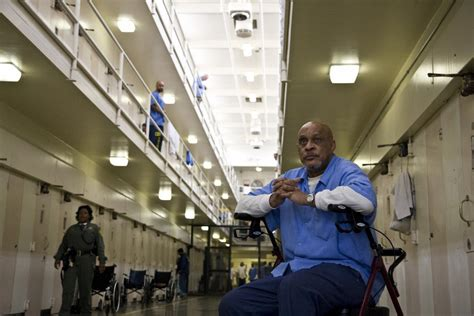 health care costs rising  calif prison population ages kpbs