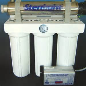carbon water filter with uv disinfection 4 stage